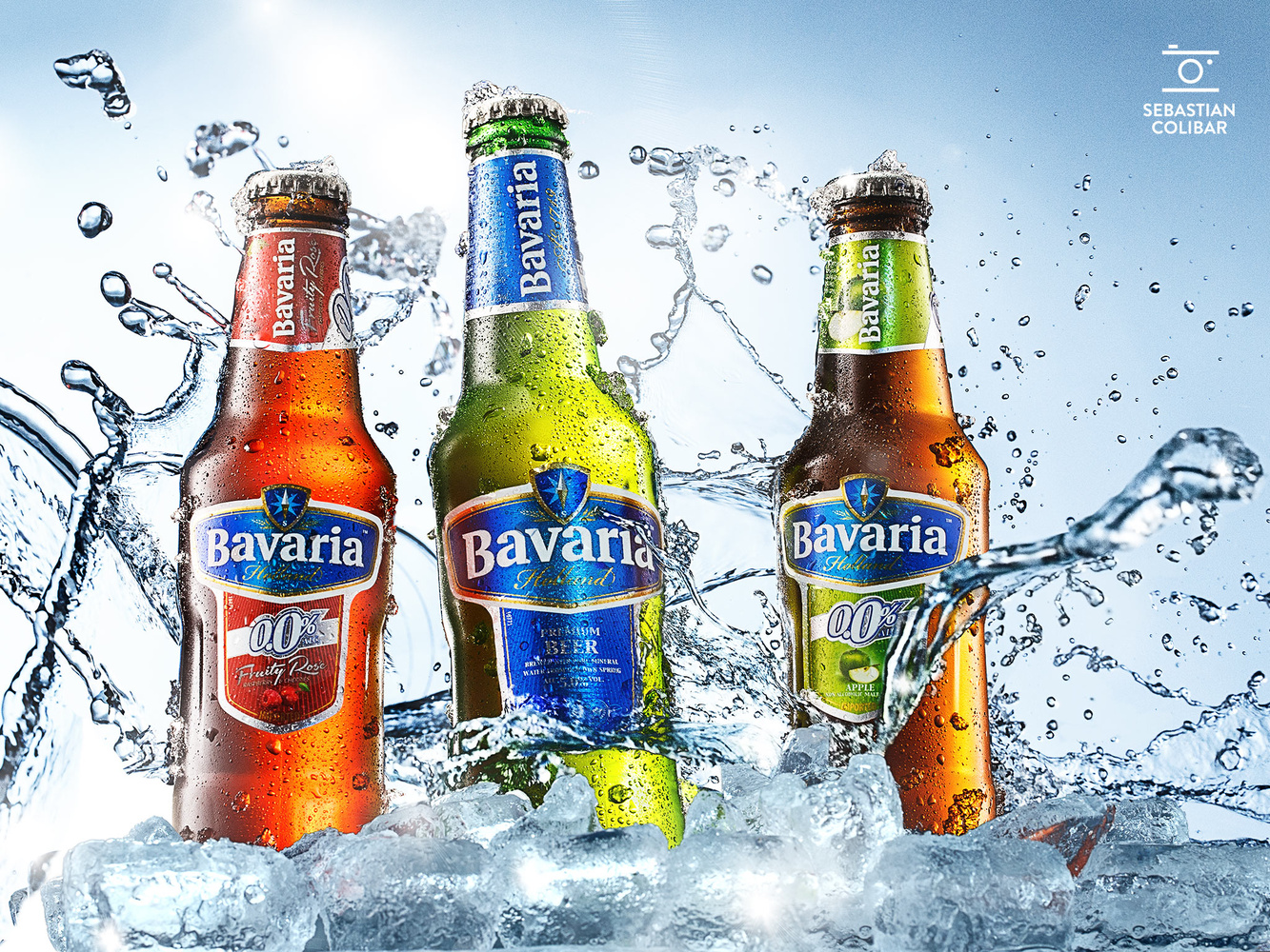 Bavaria beer by Sebastian Colibar