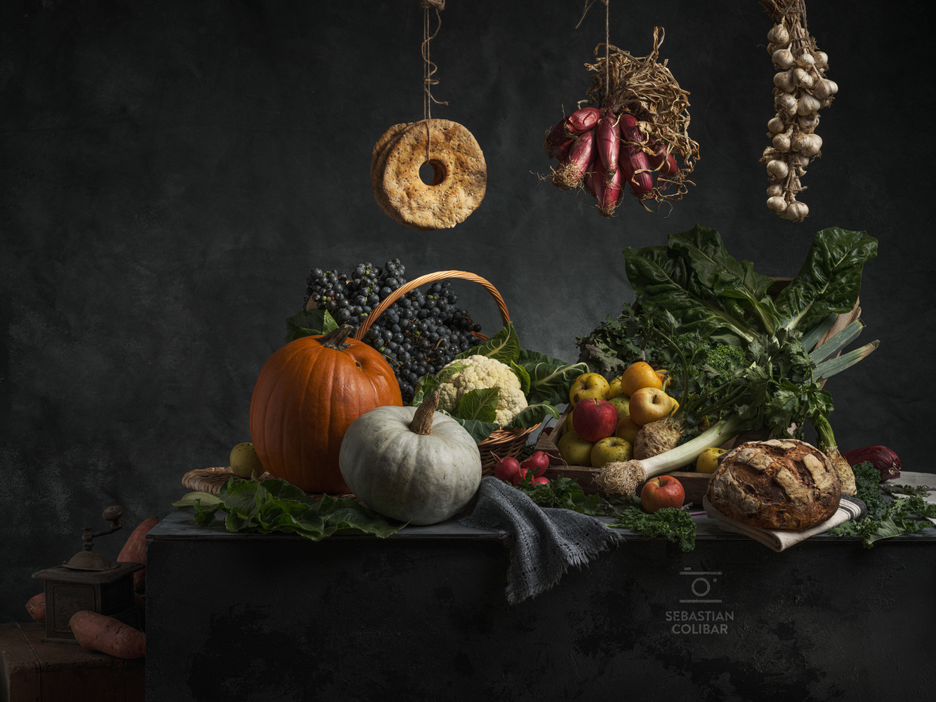 Autumn still life by Sebastian Colibar