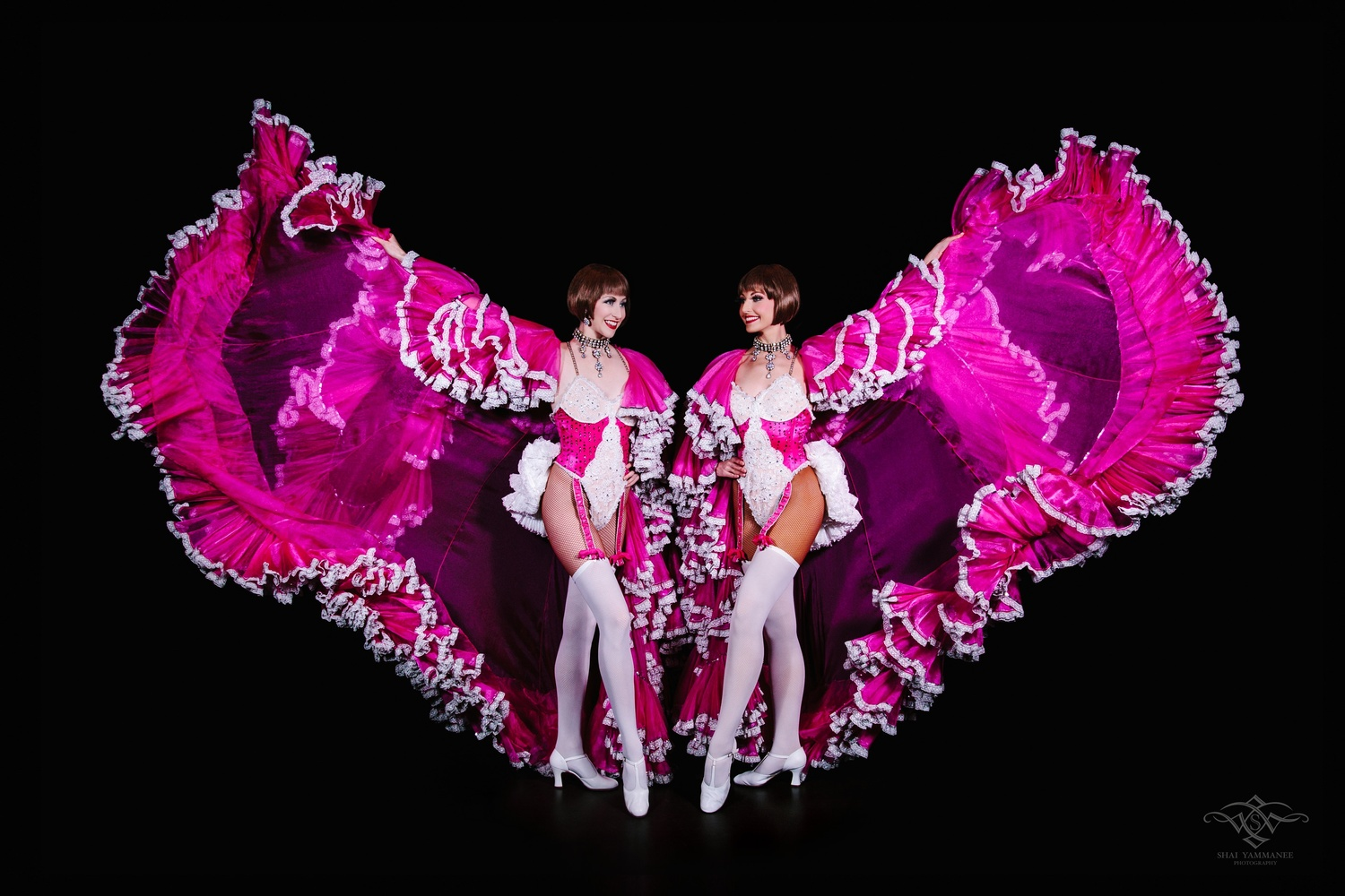 Julie & Jess - Dollies from the Follies by Shai Yammanee