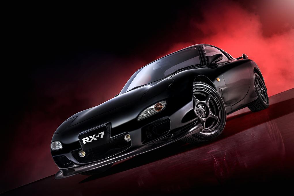 Mazda RX7 by Graham Taylor