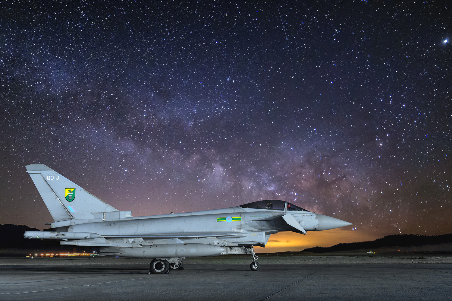 Typhoon under the stars by Graham Taylor