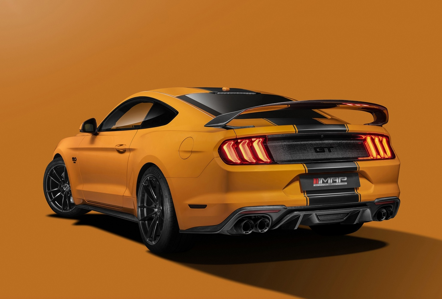 Orange Mustang by Graham Taylor