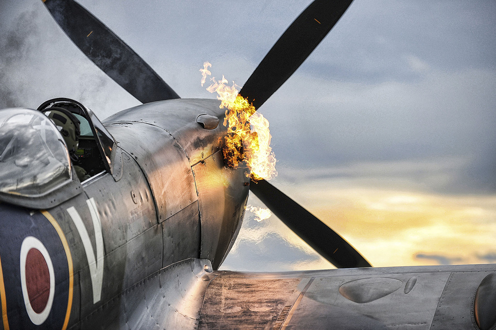 Spitfire. by Graham Taylor