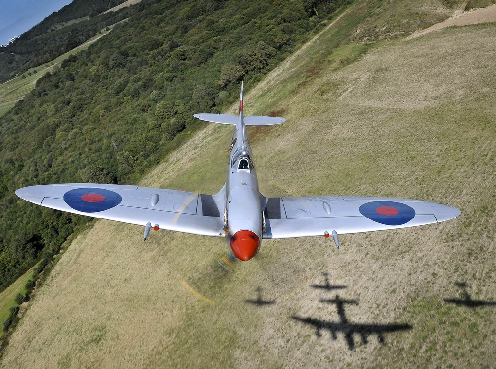 Shadow Flypast by Graham Taylor
