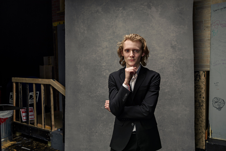 Actor Senior Portrait by JEFF Dietz