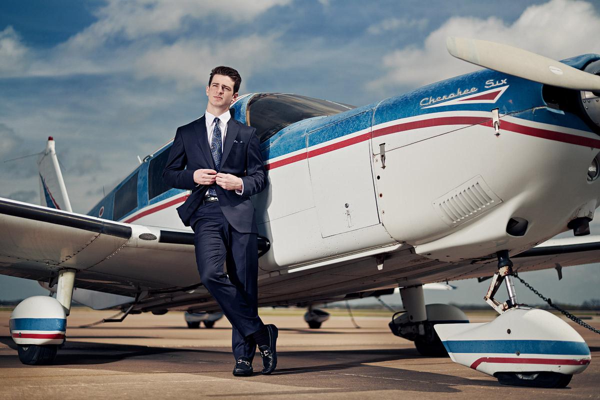 A Boy & A Plane - Senior Portraits by JEFF Dietz