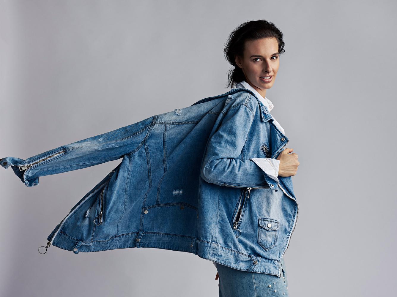 Denim Jacket Ad by JEFF Dietz
