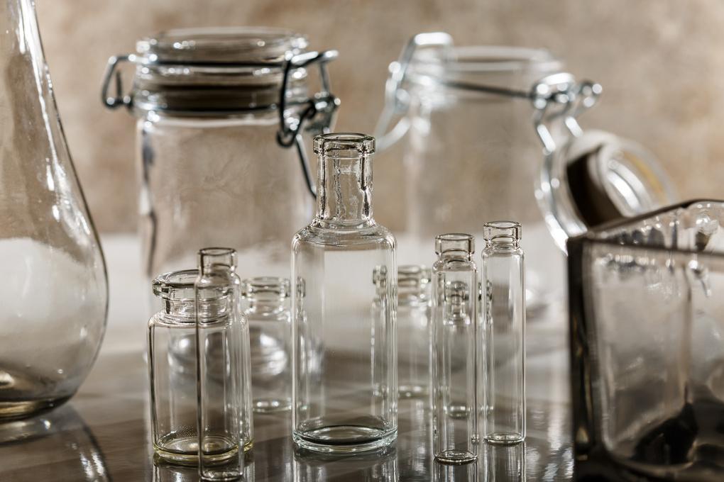 Tiny Vials by Ian Roberts