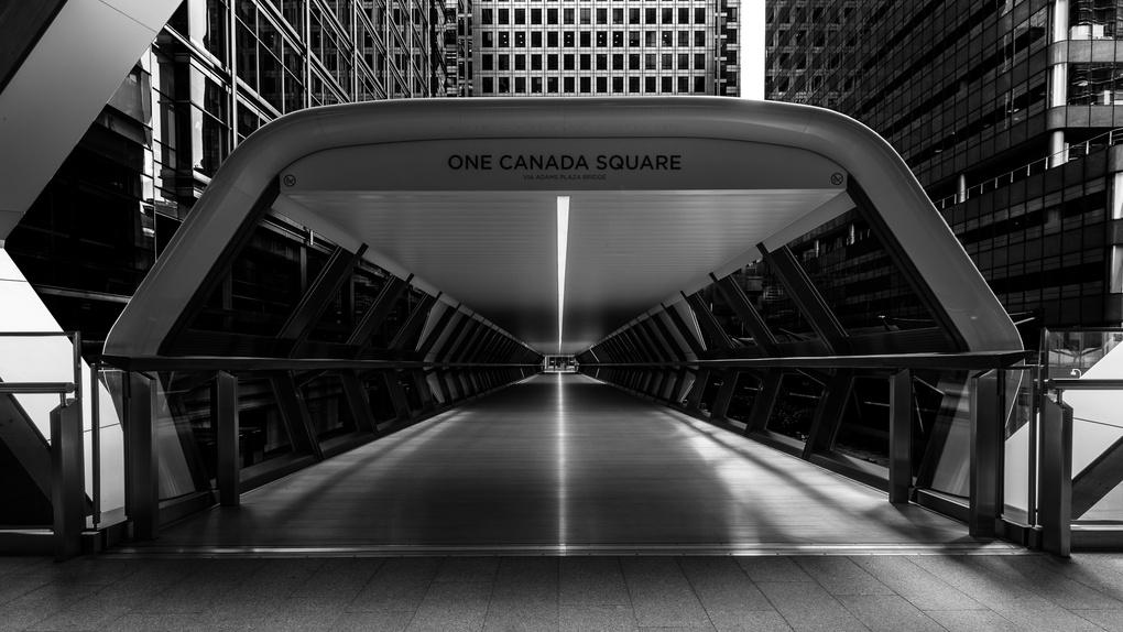 Adams Plaza Bridge by Philip Kessler