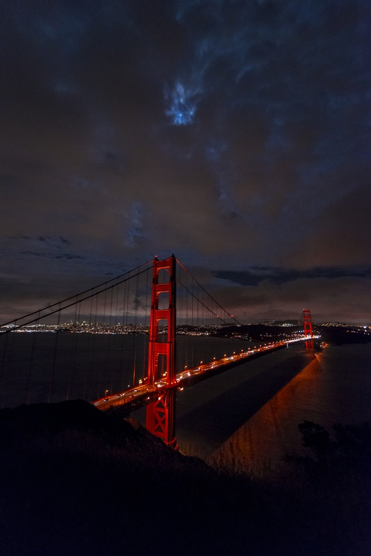 Golden Gate Bridge by Prakash Prasad