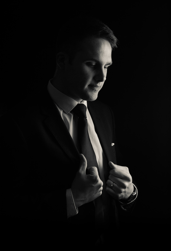 Self Portrait by Daniel Shepherd