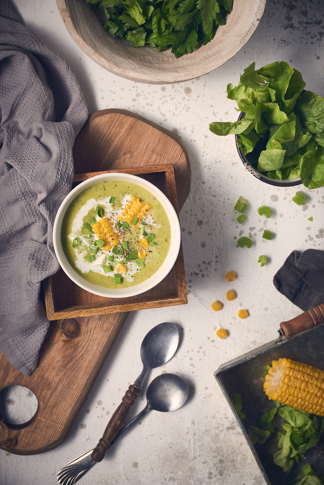 Mint Pea soup by mohamed abdel-hady