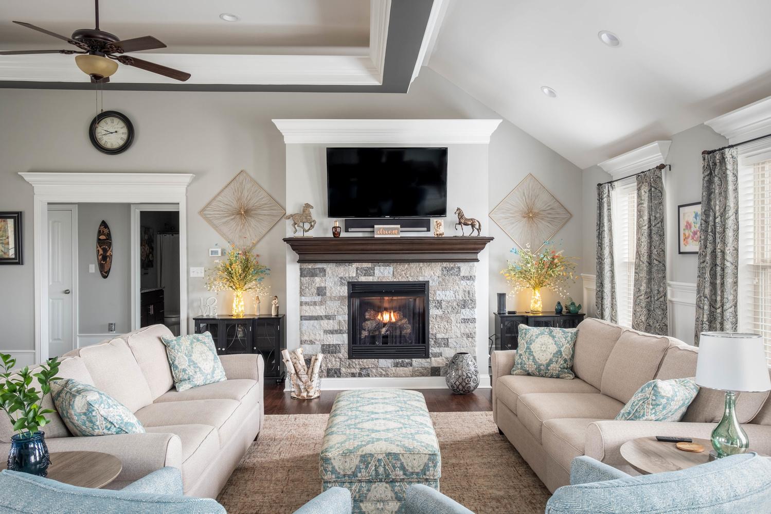 Living Room by Korey Napier
