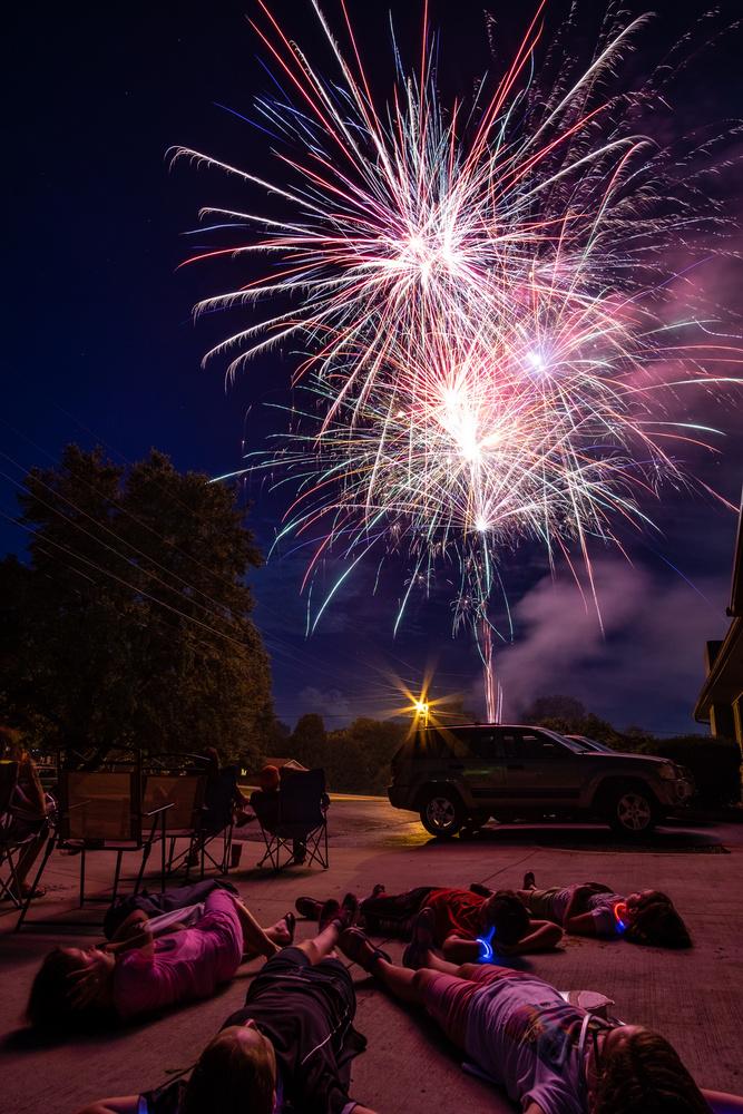 Under the Fireworks by Korey Napier
