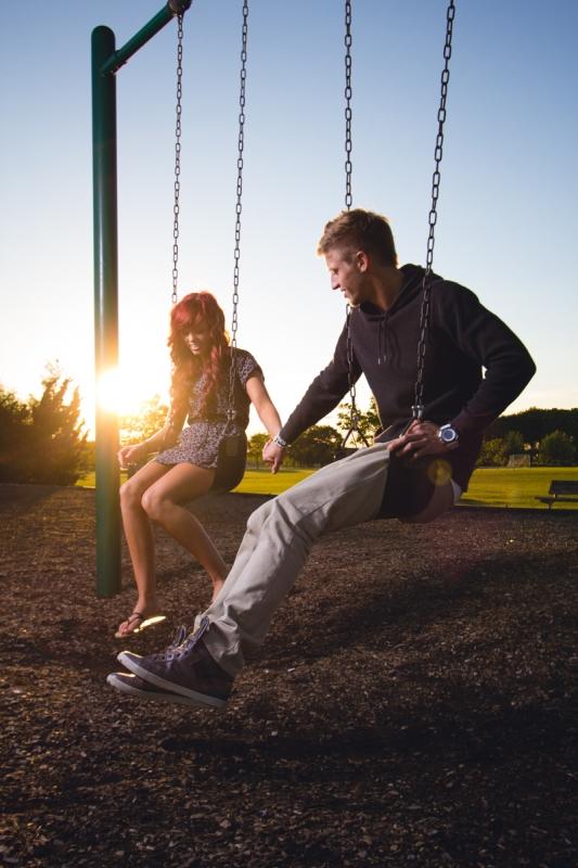 Swingset Love by John White