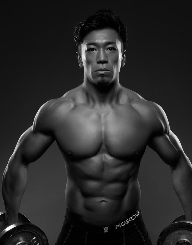 Japanese Bodybuilding Champion by Marven Payne