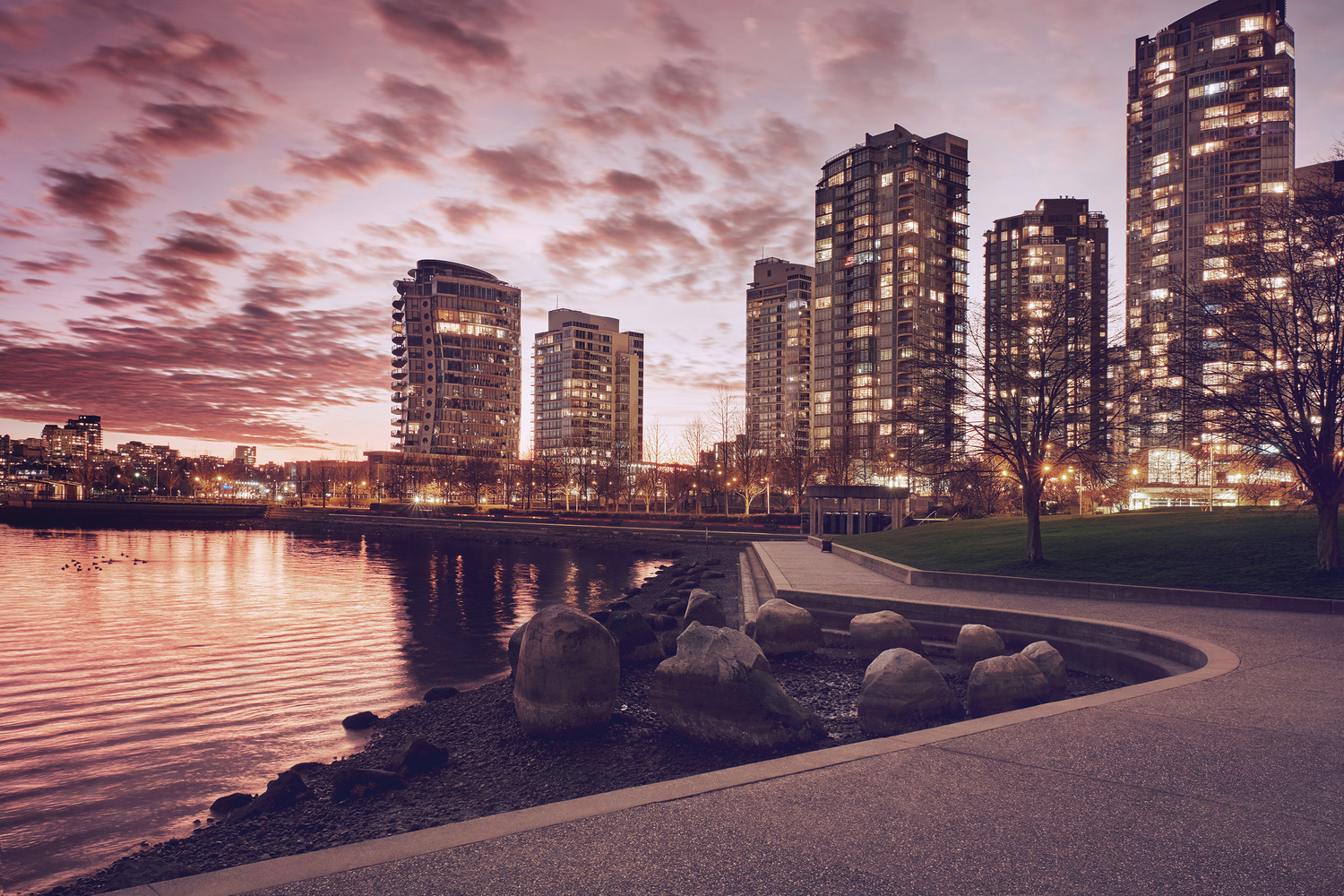 Vancouver Waterfront by James McDonald