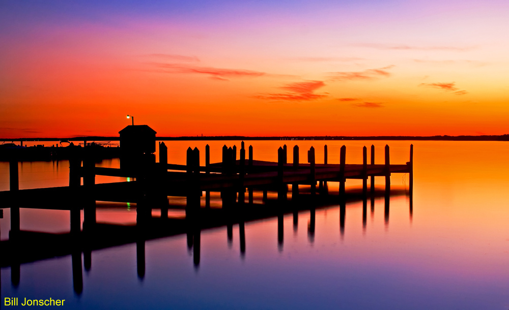 Dock of the bay. by Bill Jonscher