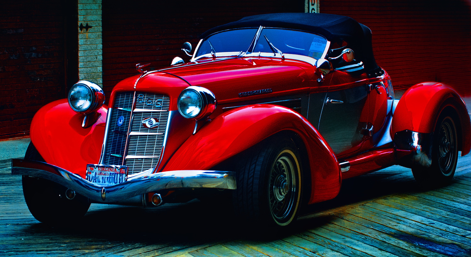 1935 Auburn 866 Boattail Speedster by Bill Jonscher