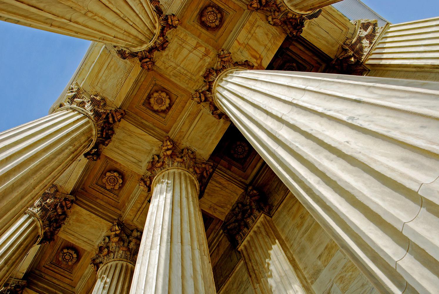 Columns, US Supreme Court by Bill Jonscher