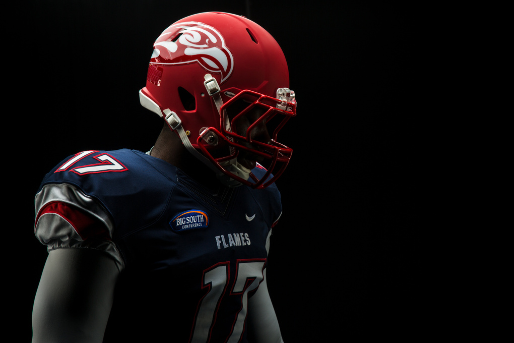 Liberty Flames Football by Kevin Manguiob