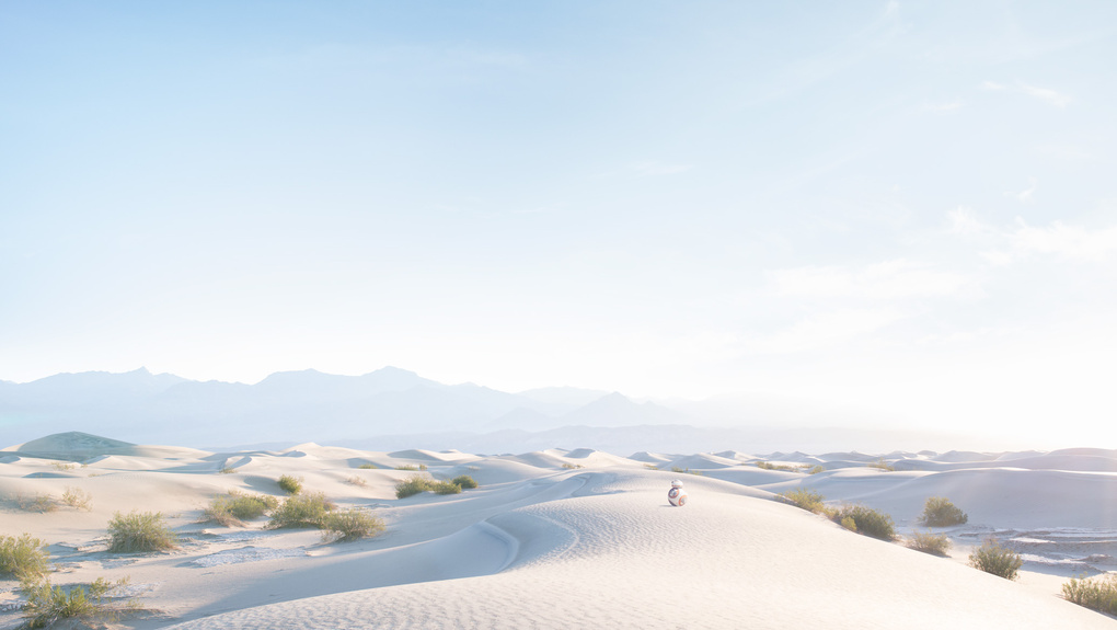 Lost on Tatooine by Christoffer Meyer