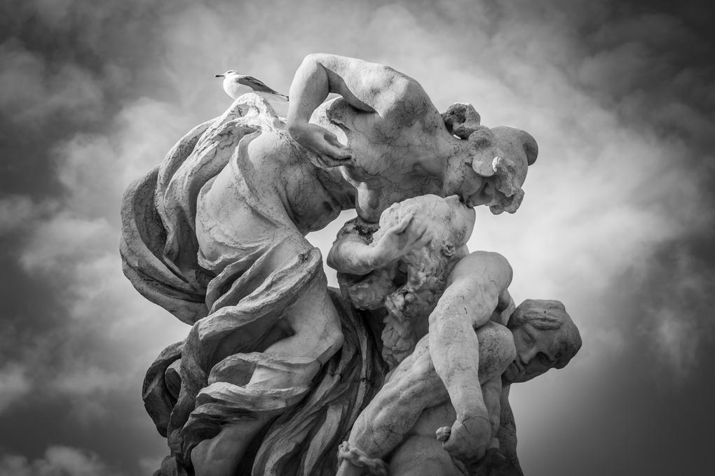 Statue by Lewis Moorhead