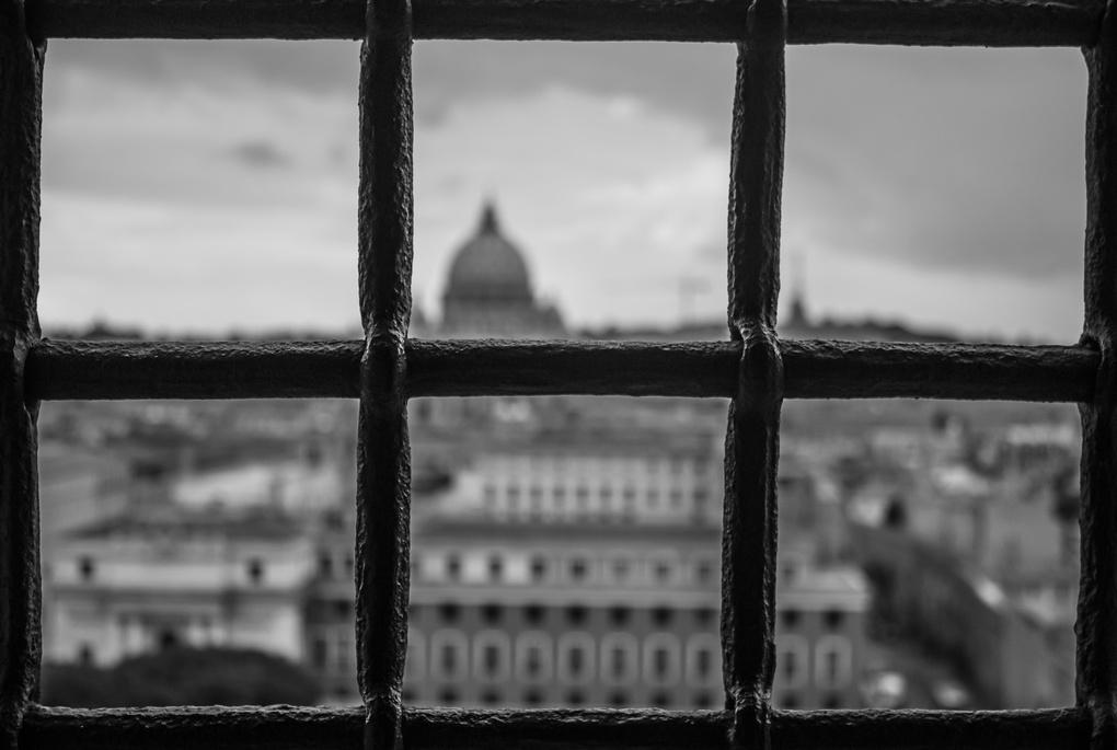 Rome Window by Lewis Moorhead