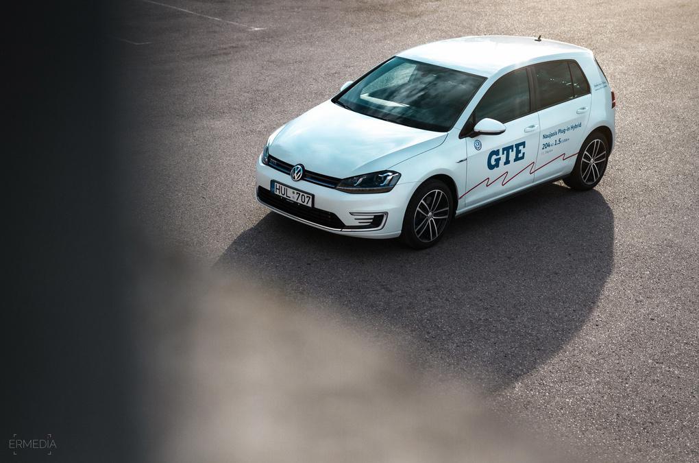 VW Golf Mk7 GTE Hybrid by Eimantas Raulinaitis