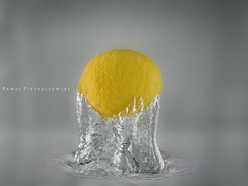 Citrus splash by Pawel Pietraszewski