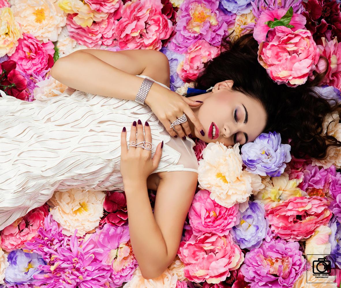 Flower Girl by Tomasz Ciesielski