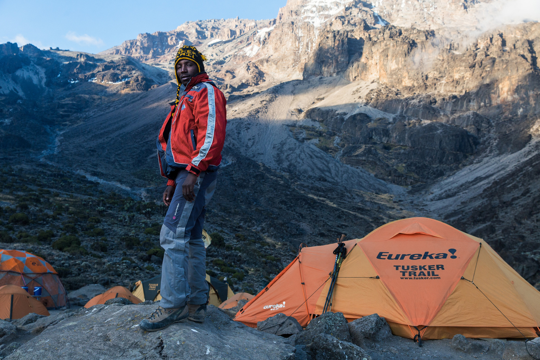 Wings Of Kilimanjaro - Baraka Ayo by Clay Cook