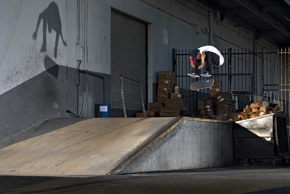 Sam Perales Fakie Frontside Flip by Will Fisher