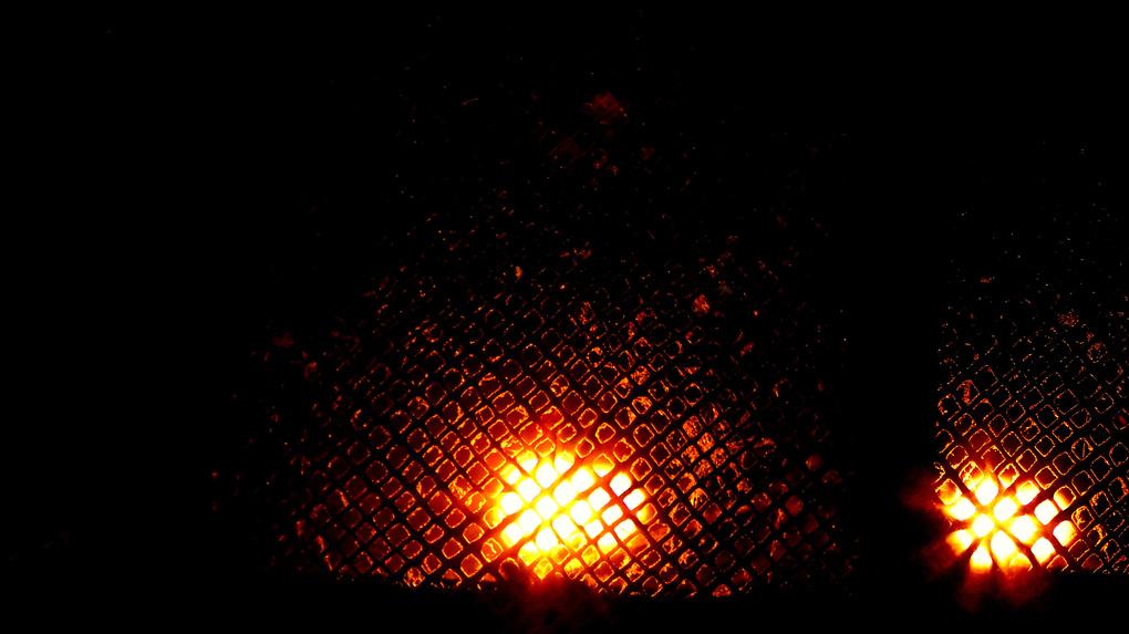 The lighting of Street light by Santhosh Kasturi