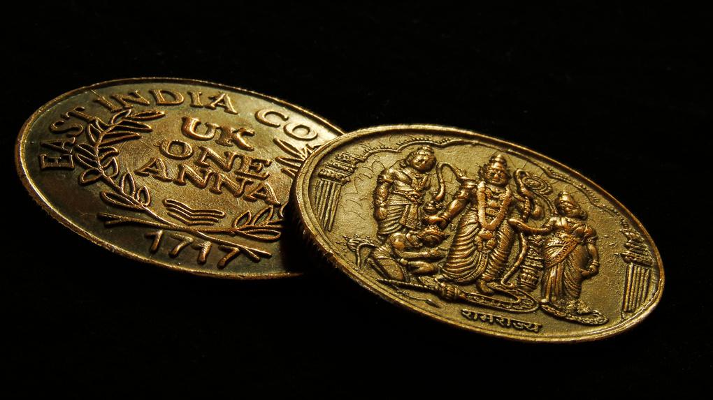 The coins by Santhosh Kasturi