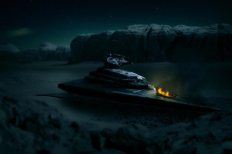Star Destroyer by Jordan Ryan