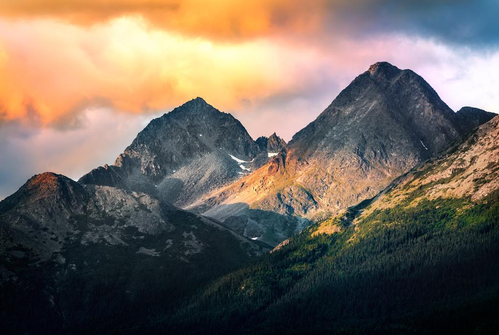 Alaskan Mountains by Jordan Stern