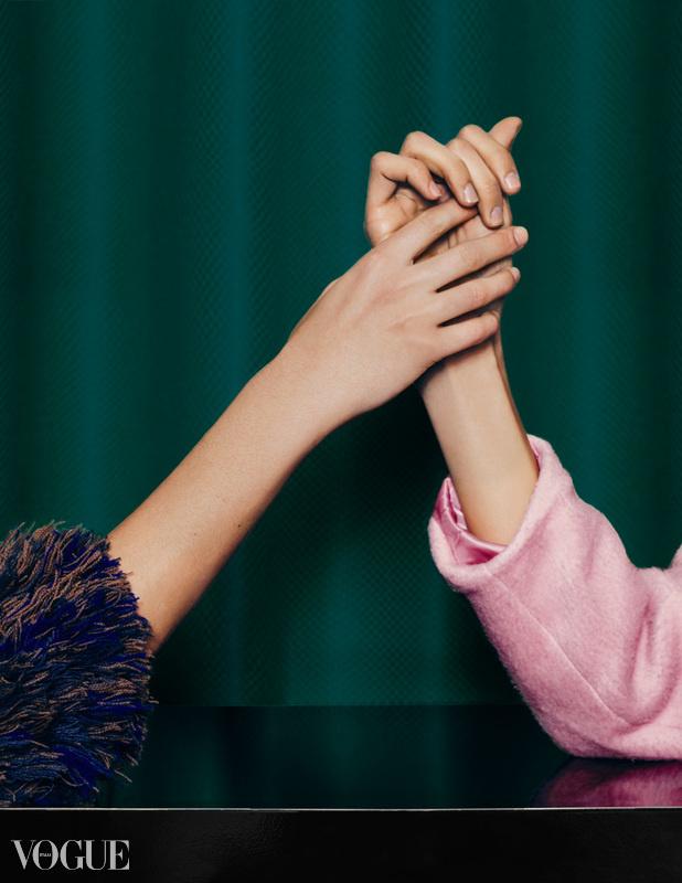 Priceless Friendship on Vogue Italia  by Ekin Can Bayrakdar
