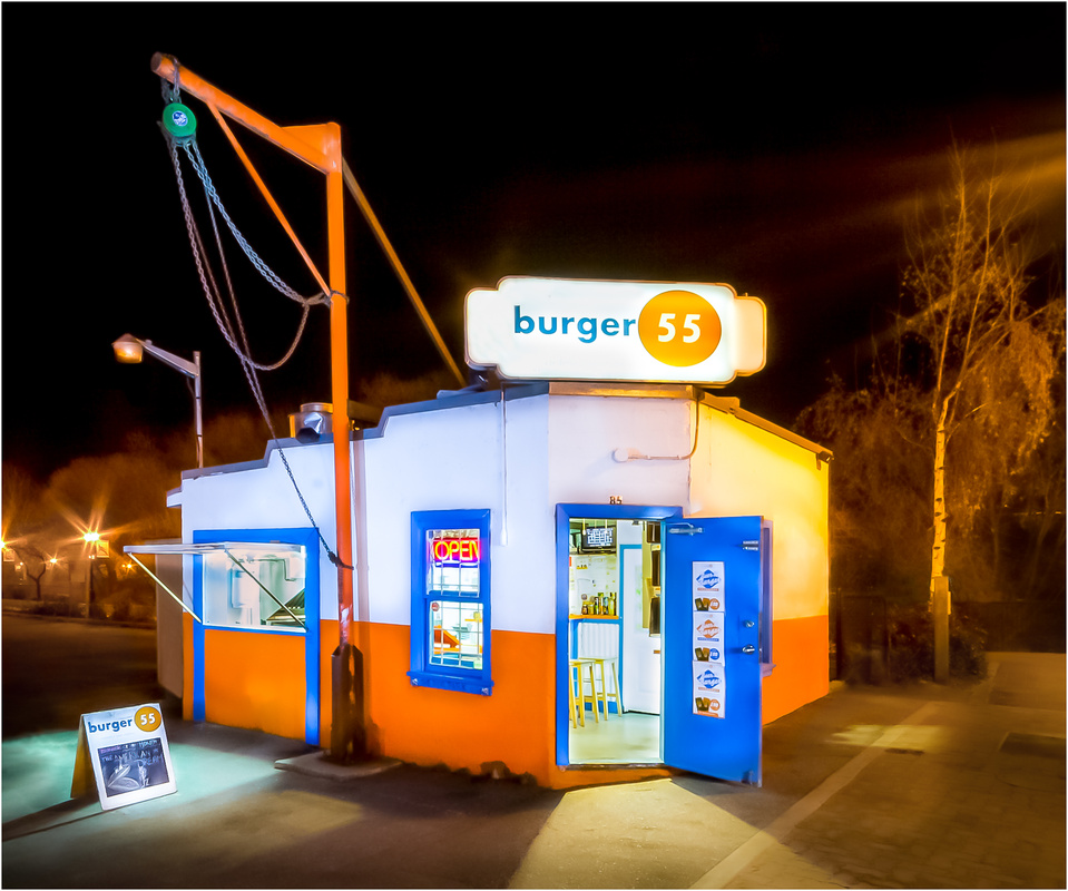 Burger 55 by Mike Steele