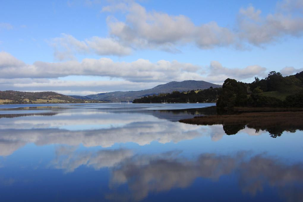Reflecting on Castle Forbes Bay by Robert Elliott