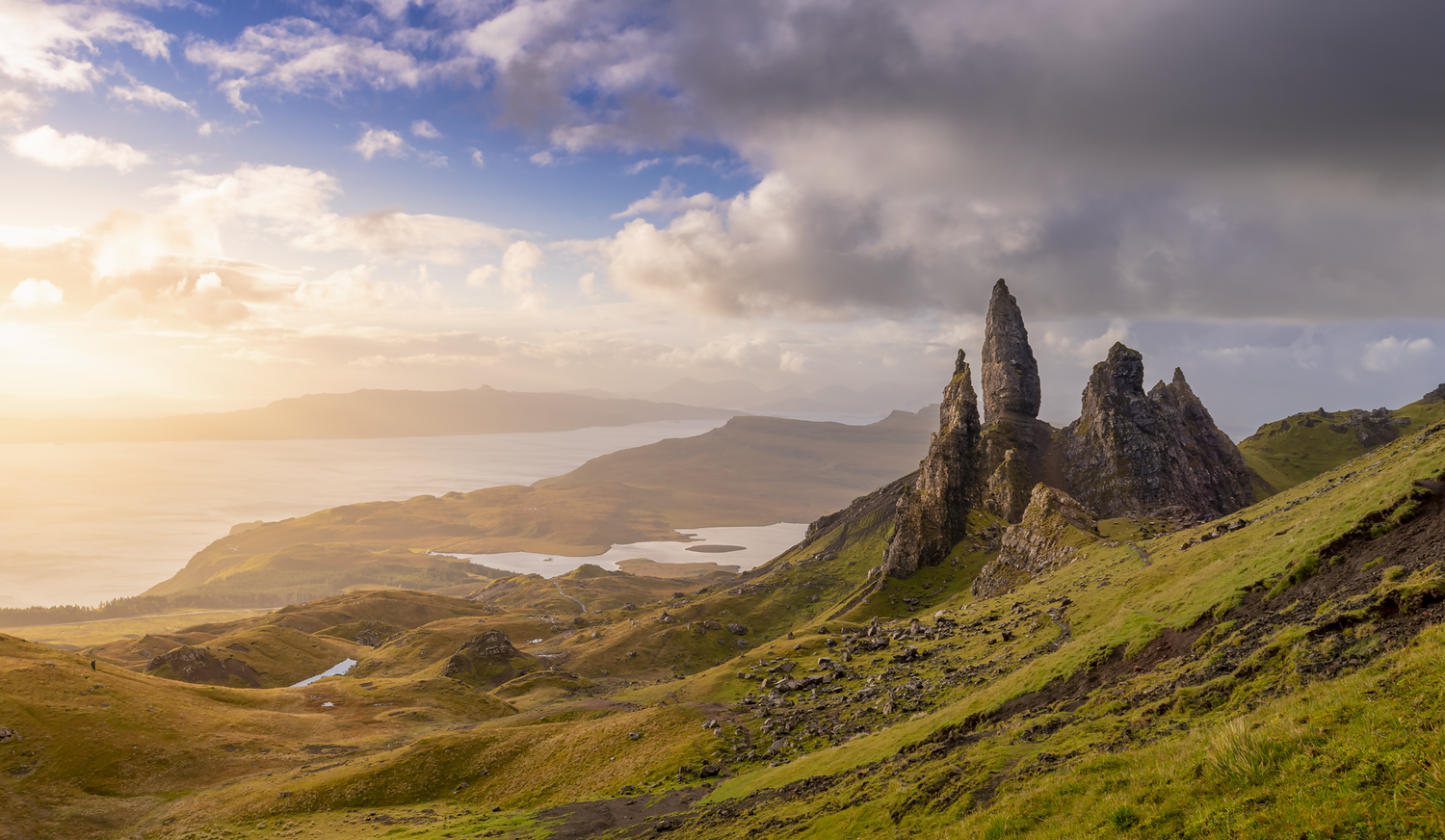 The Old Man of Storr by Onn Henner