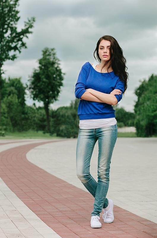 фотоподборка в джинсах