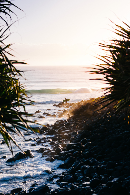 Good Morning Burleigh Heads by Kalle Lundholm
