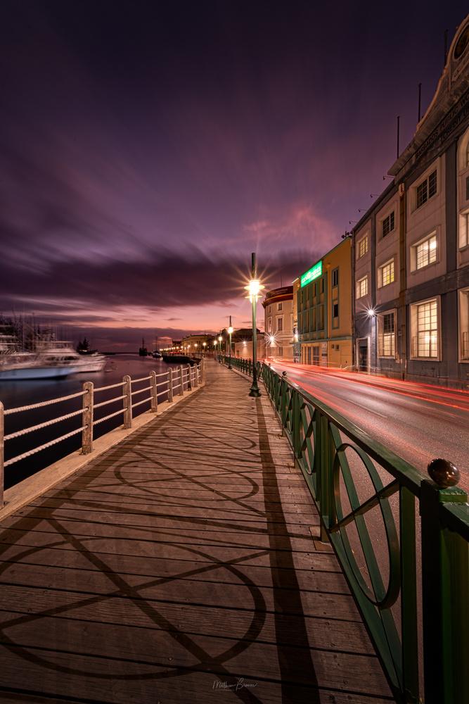 Bridgetown Boardwalk by Mathew Browne