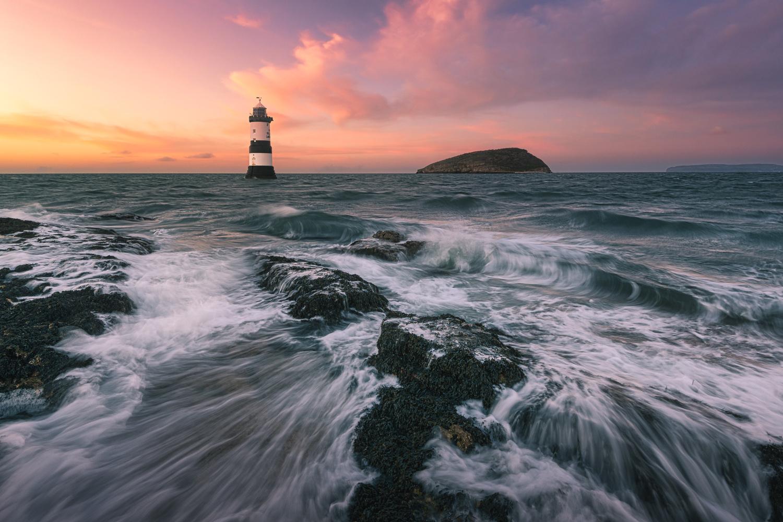 Penmon Lighthouse by Mathew Browne