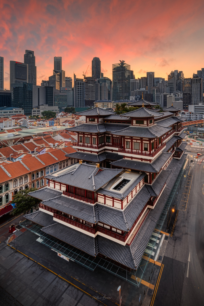 Singapore Chinatown by Mathew Browne