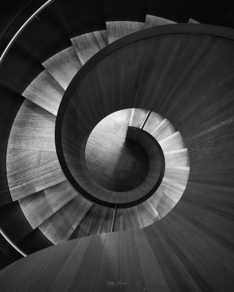 The Downward Spiral by Mathew Browne