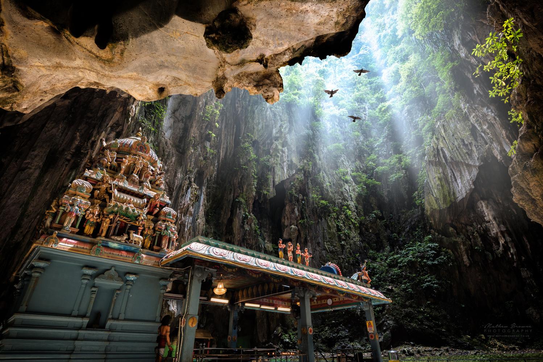 Batu Caves by Mathew Browne
