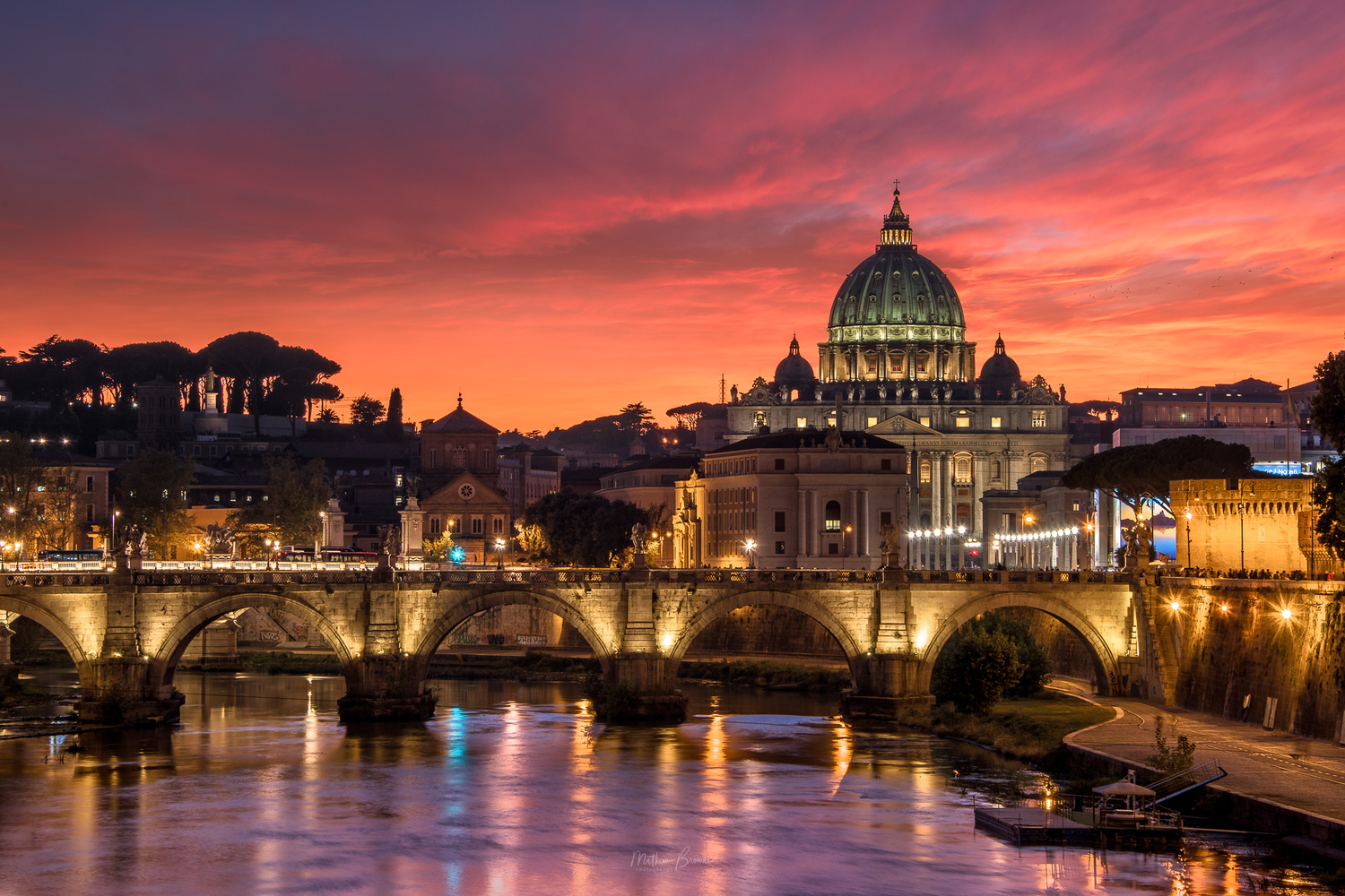 While Rome Burns by Mathew Browne