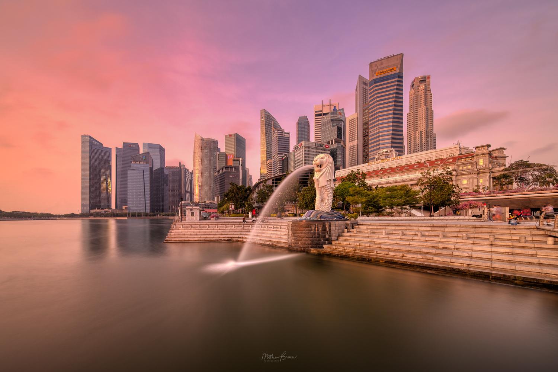 Marina Bay Dawn by Mathew Browne